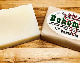 Handmade Soap, Bohemian Hemp