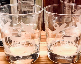 Whiskey Glasses, Coast Guard