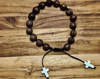 Beaded Bracelet, Tiger Wood