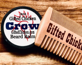 Beard Balm Gift Set, Crow