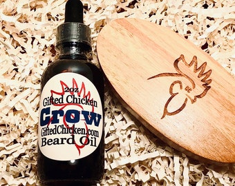 Beard Oil Gift Set, Crow