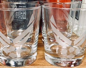 Whiskey Glasses, Air Force