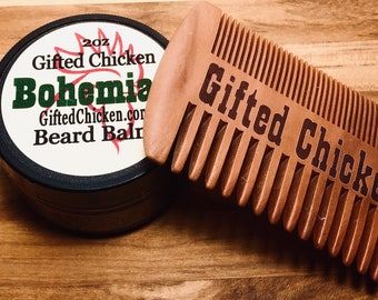 Beard Balm Gift Set, Bohemian Hemp