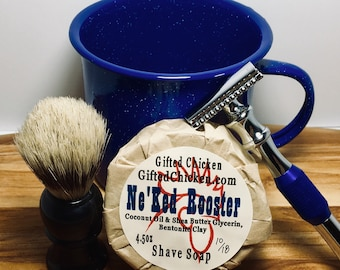 Shave Kit, Safety Razor