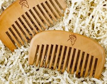 Beard Comb - GC Single Logo