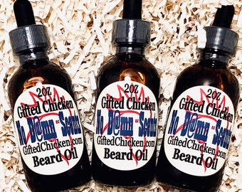 Beard Oil, No D@mn Scents
