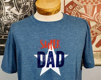 T-shirt, Super Dad (Premium Soft)
