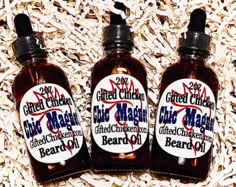 Beard Oil, Chic Magnet