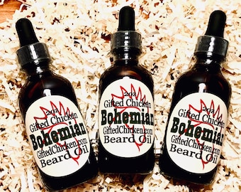 Beard Oil, Bohemian Hemp