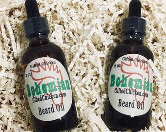 Beard Oil, Bohemian Hemp