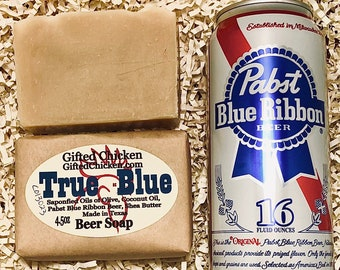 Beer Soap, True Blue