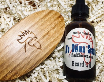 Beard Oil Gift Set, No D@mn Scents