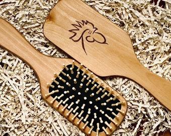 Wood Brush - GC Logo