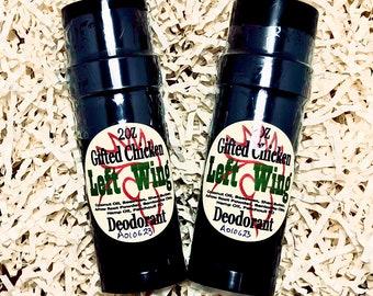 Deodorant, Left Wing