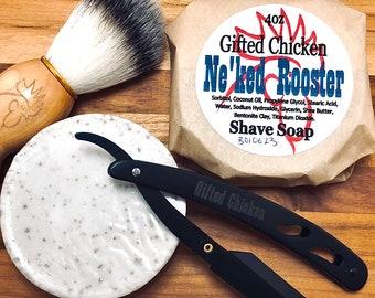 Shave Soap, Ne'ked Rooster