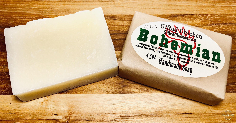 Bar Soap (Handmade), Bohemian Hemp