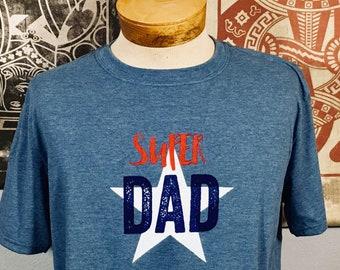 T-shirt, Super Dad (Premium Soft)