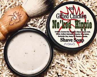 Shave Soap Jar, Ne'ked Hippie
