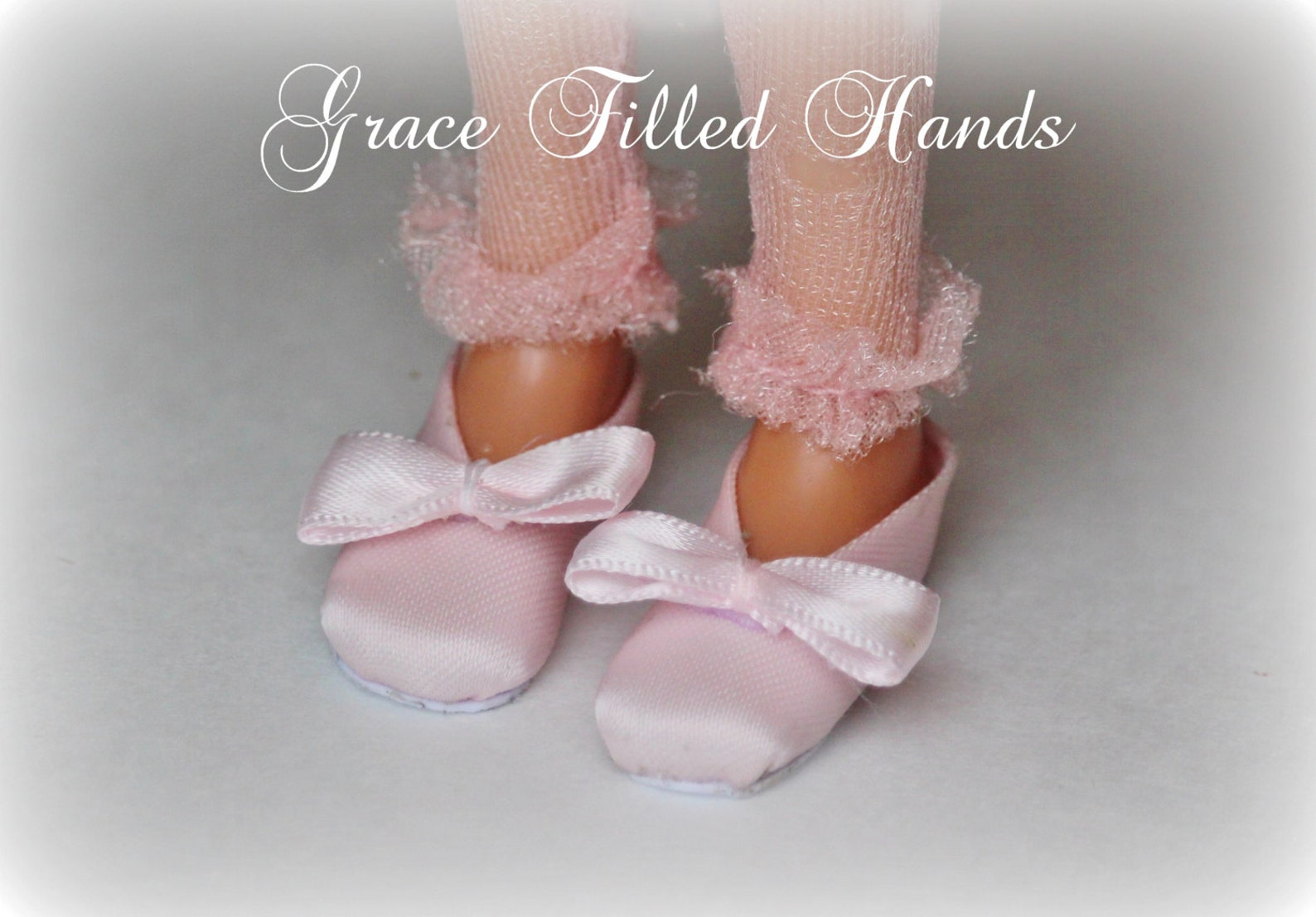 tiny dancer ballet slippers tutorial for bratz & moxie dolls