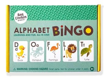 Alphabet ABC Bingo Game for Kids