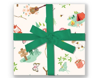 GIFT WRAP - Camping Adventure