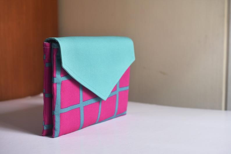Twin Clutch Pattern  PDF Sewing Pattern  Bag Sewing Pattern image 0