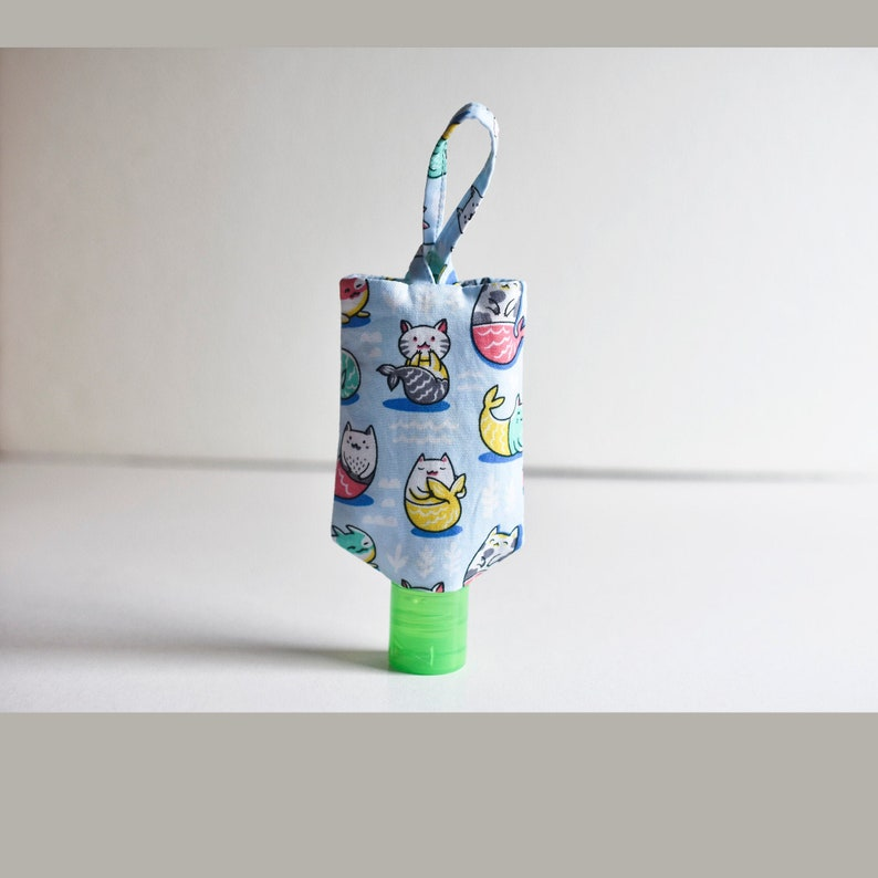 Easy Hand Sanitizer Holder Sewing Pattern INSTANT DOWNLOAD PDF image 0