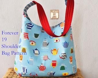 Forever 19 Shoulder Bag Pattern | PDF Sewing Pattern | Bag Sewing Pattern |