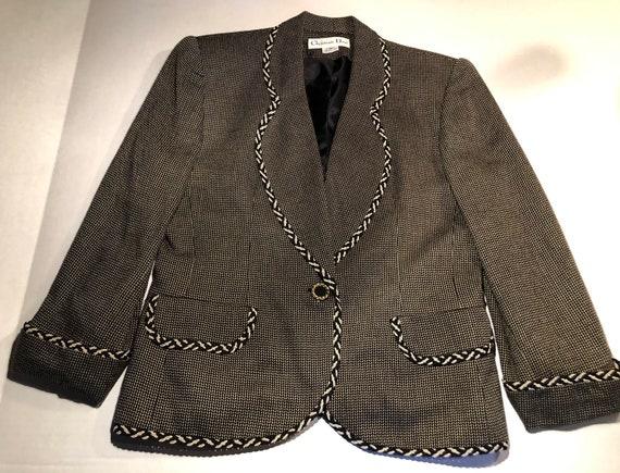 Christian Dior jacket 50s -60s.