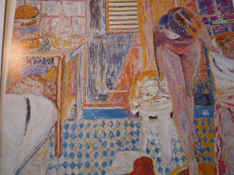 Una Vasca Da Bagno Traduzione Francese : Bonnard nudo nell arte francese adatto di vasca da bagno etsy