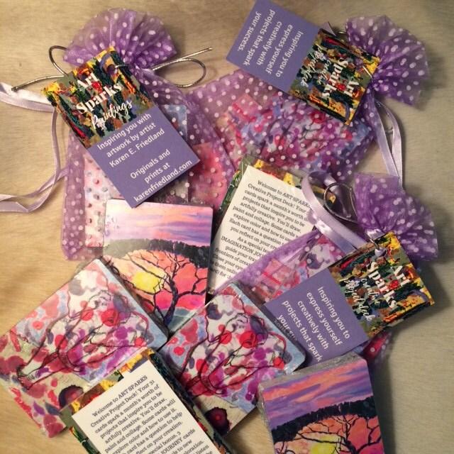 art sparks creative project card deck inspiration