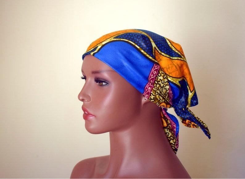 Blu Tribal Queen Bandana