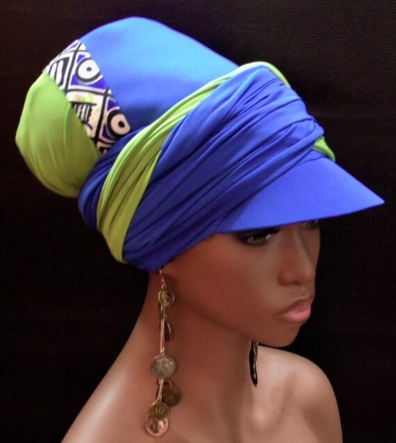 Chill Sun Visor Headwrap Women Hats Wrap Hat-Dread Locs  094bf9e5f74