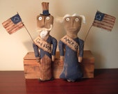 PriMitiVe AmeRicaNa Sweet Liberty Doll Set epattern Instant Download