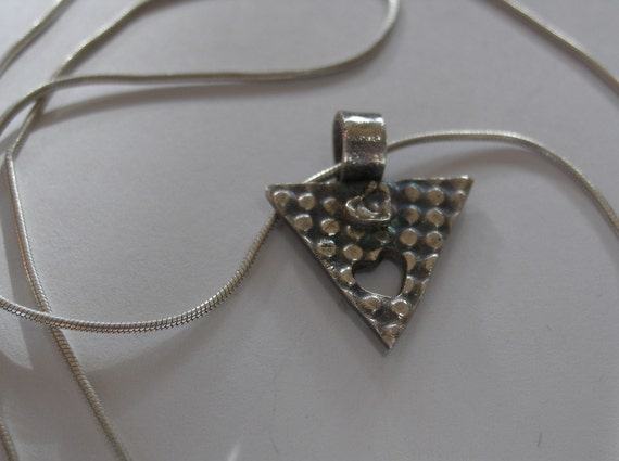 Bit of Love - Fine Silver Pendant