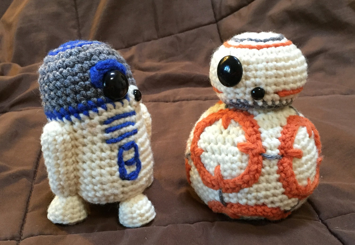 BB8 AND R2D2 Star Wars Inspired Crochet Patterns 2 for 1!! from ...