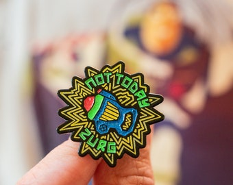 Not Today Zurg - GLOW in the DARK Enamel Pin - Give Kids the World Fundraiser