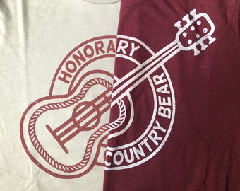 Honorary Country Bear - Unisex Tee - Give Kids the World Fundraiser