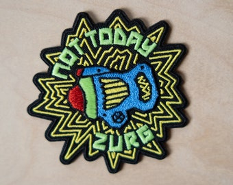 Not Today Zurg! Iron-On Patch, Buzz Lightyear - Give Kids the World fundraiser