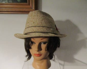 90355a22ac9cb Vintage Gentlemen s Knox Fedora Hat with Feathers