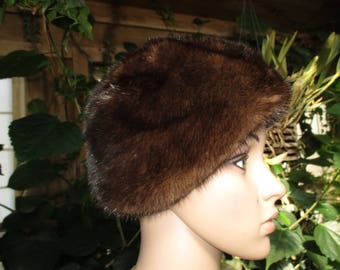 MISS ALICE for Jacobson s Fur Hat 60 s Women s Rabbit Fur Winter Hat Vintage  Fur Hat b0f24e992f23