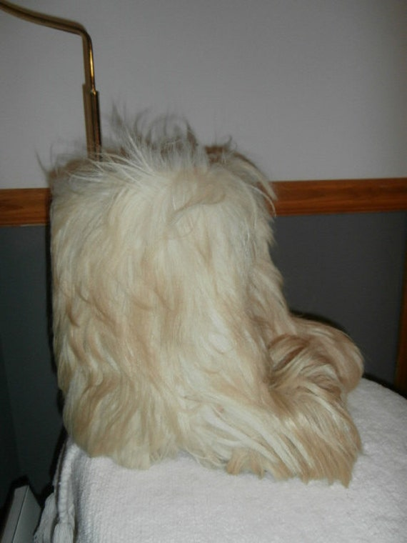 Fur Boots Yeti Snow Boots Vera Pelle Italy Womens… - image 3
