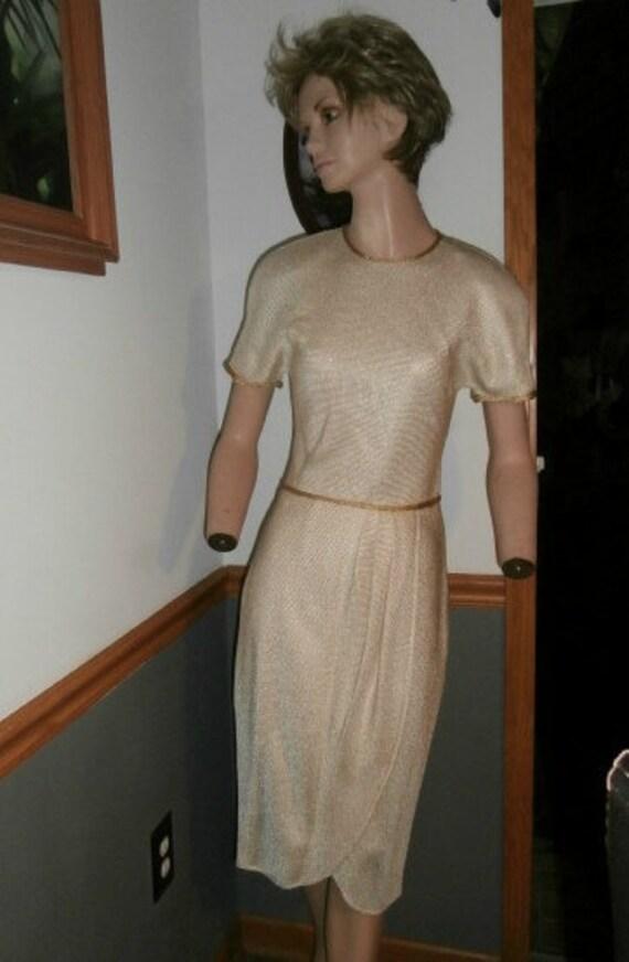 Womens Cocktail Dress ~ Albert Nipon Designer Part