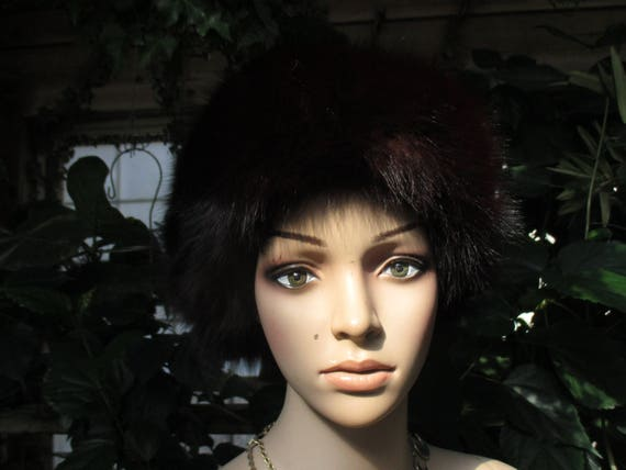 Jacobson's Fur Hat 60's  Women's  Rabbit Fur Wint… - image 1