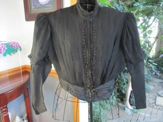 Women's  Victorian Blouse Satin Silk