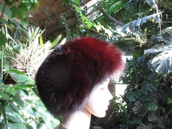 Jacobson's Fur Hat 60's  Women's  Rabbit Fur Wint… - image 2