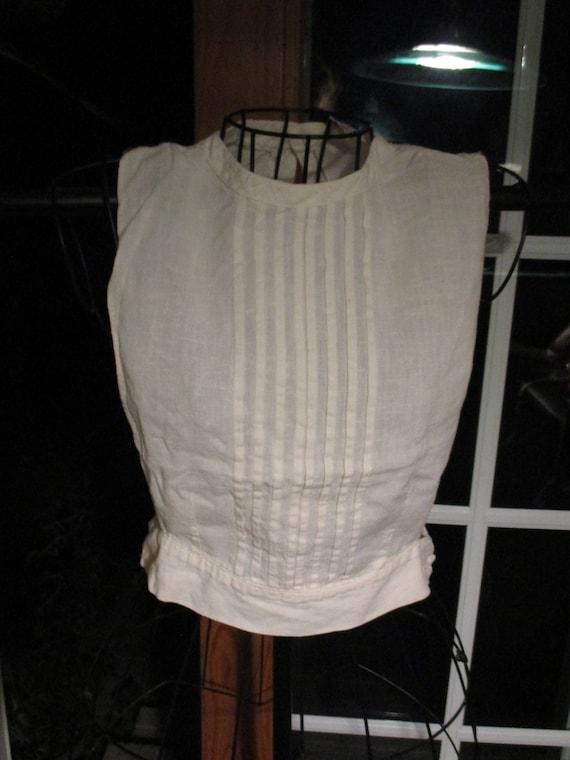 1940's Women's Antique  Suitor by Babe Vest~Cotton