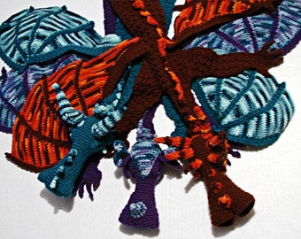 Dragon Scarf Crochet Pattern