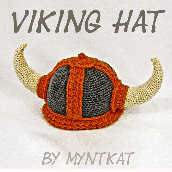 Viking Hat Crochet Pattern Etsy