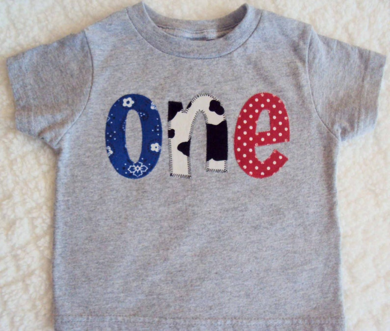 Boys Birthday Shirt One Year Old Two